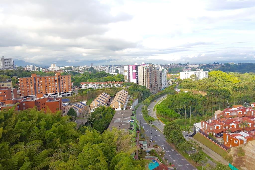 Vista desde la Terraza sur