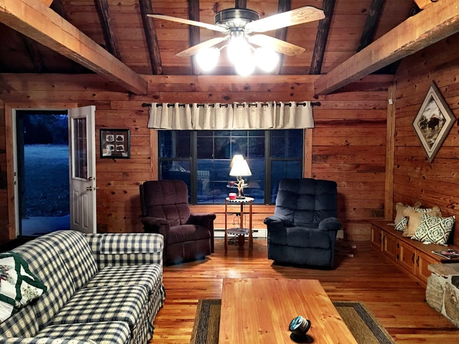 The Fishing Cabin Cabins For Rent In Salem Missouri