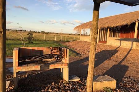 Cabaña en la naturaleza con acceso a parque termal - Termas del Daymán
