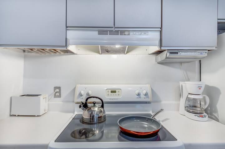 Full accommodating kitchen