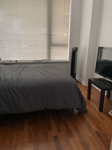 Centrally located. Downtown 1 bedroom w/ balcony