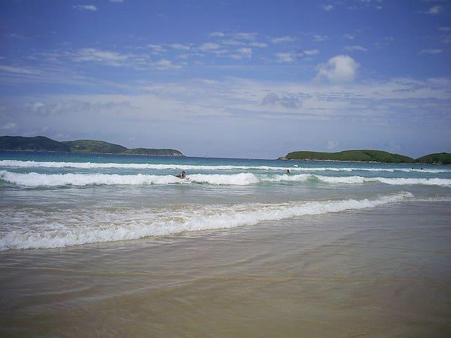 Apartamento completo e funcional na Praia do Peró