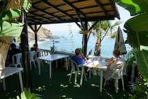 La Viborilla - beach restaurant only 150 meter from the apartment (there are several choices)