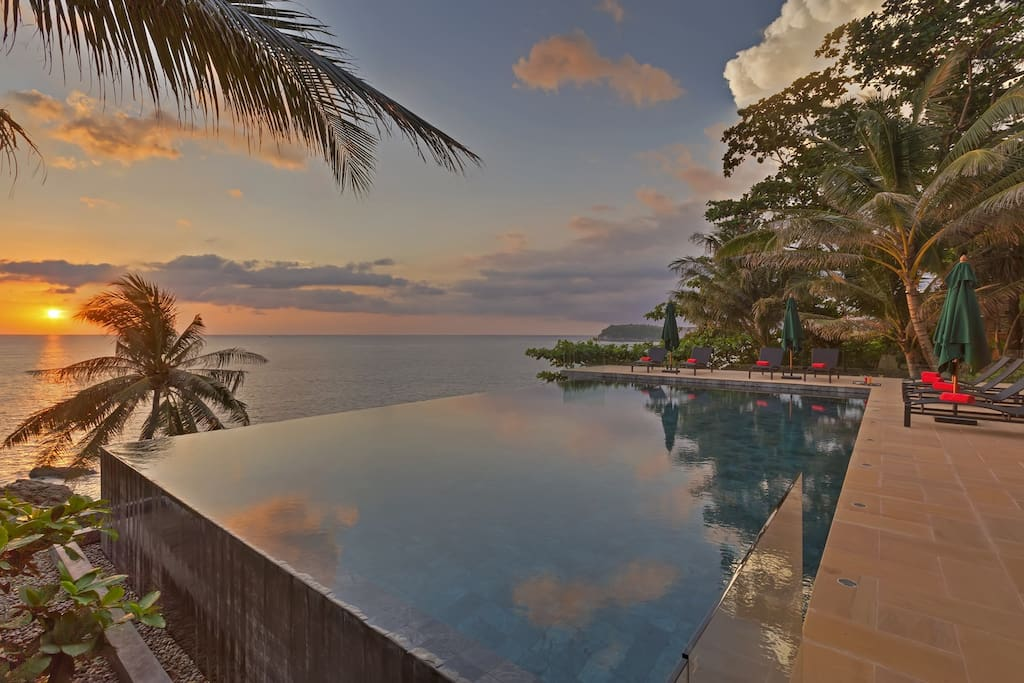 Infinity Pool on the Andaman Sea