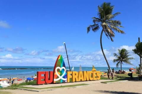 Apartamento a dos cuadras de la playa francesa