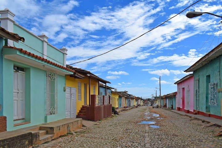 House for rent close to city center Trinidad,Cuba