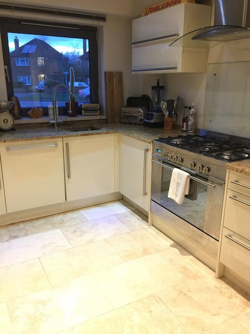 Spacious Kitchen with use of all domestic appliances