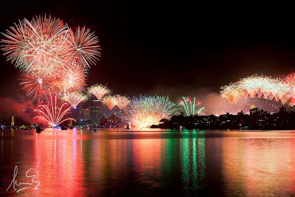 New year Eve fireworks are amazing