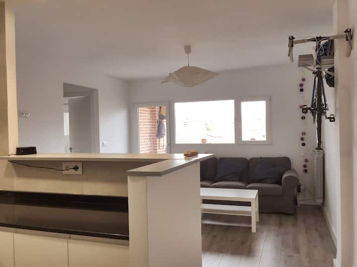 Cosy & lightly apartment in the city centre