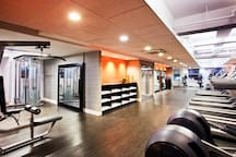 Our fitness studio keeps guests energized in the city that never sleeps. With top-of-the line treadmills and elliptical machines, as well as free weights and bicycles. Complete with complimentary towels and water machines to keep you on your A-game.