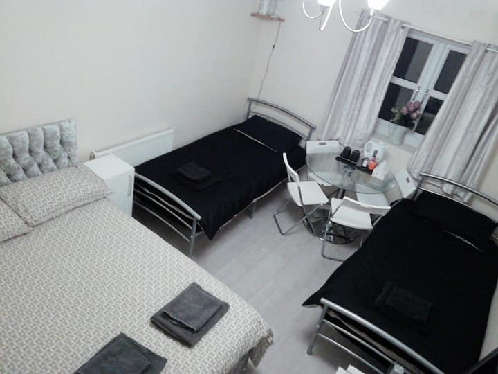 1. Family room in a hotel in grimsby town centre
