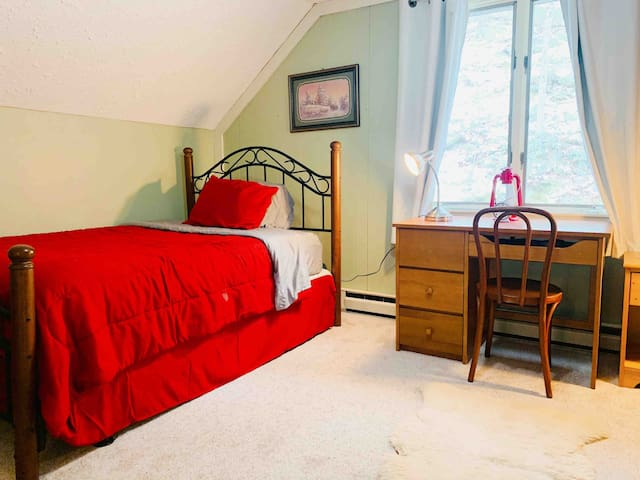 2nd Bedroom with workspace (desk)