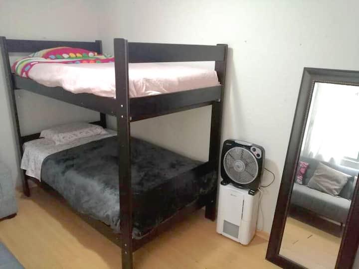 Habitación cómoda en Apartamento en el ♥️ de Lima