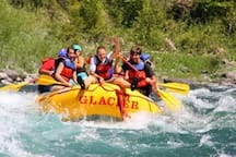 Take a rafting trip on one of the many beautiful rivers in the area.