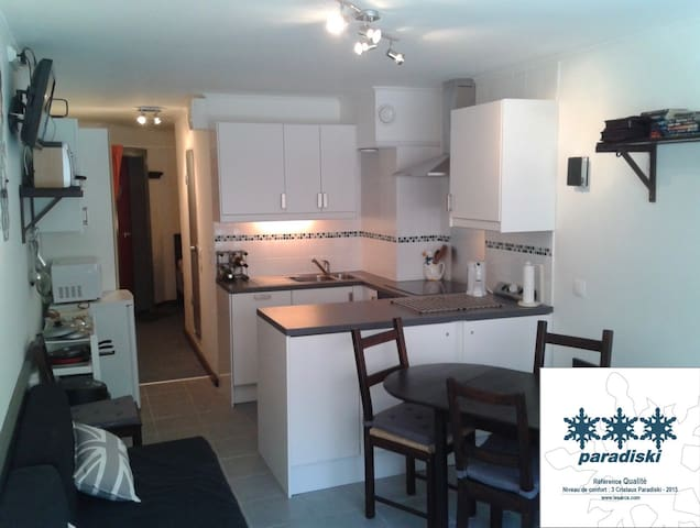 Arc 2000 Modern Studio Apartment Sleep 5 - Arc 2000, commune Bourg-Saint-Maurice - Huoneisto
