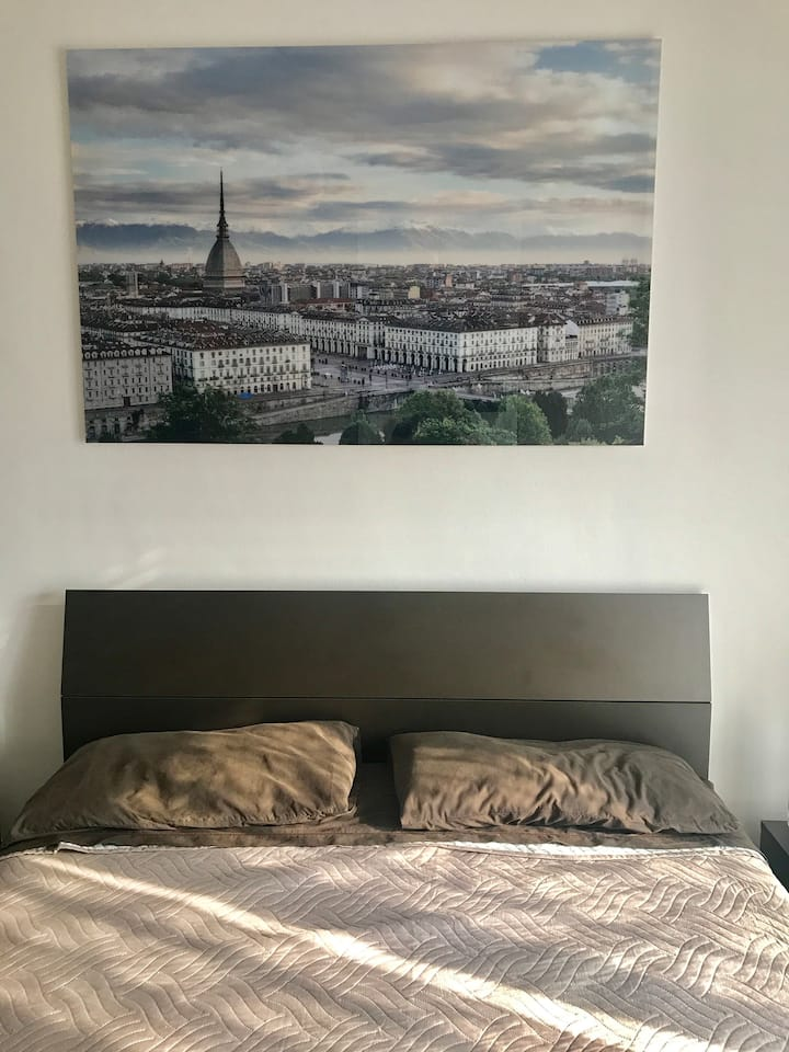 Cozy double room in Torino ,for female only
