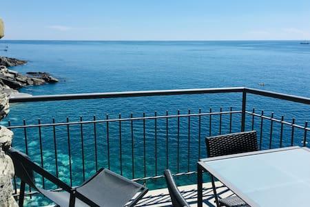 Vernazza sul mare: Il Ciasso Romantic Seafront Apt