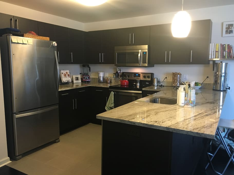 Kitchen, all modern appliances