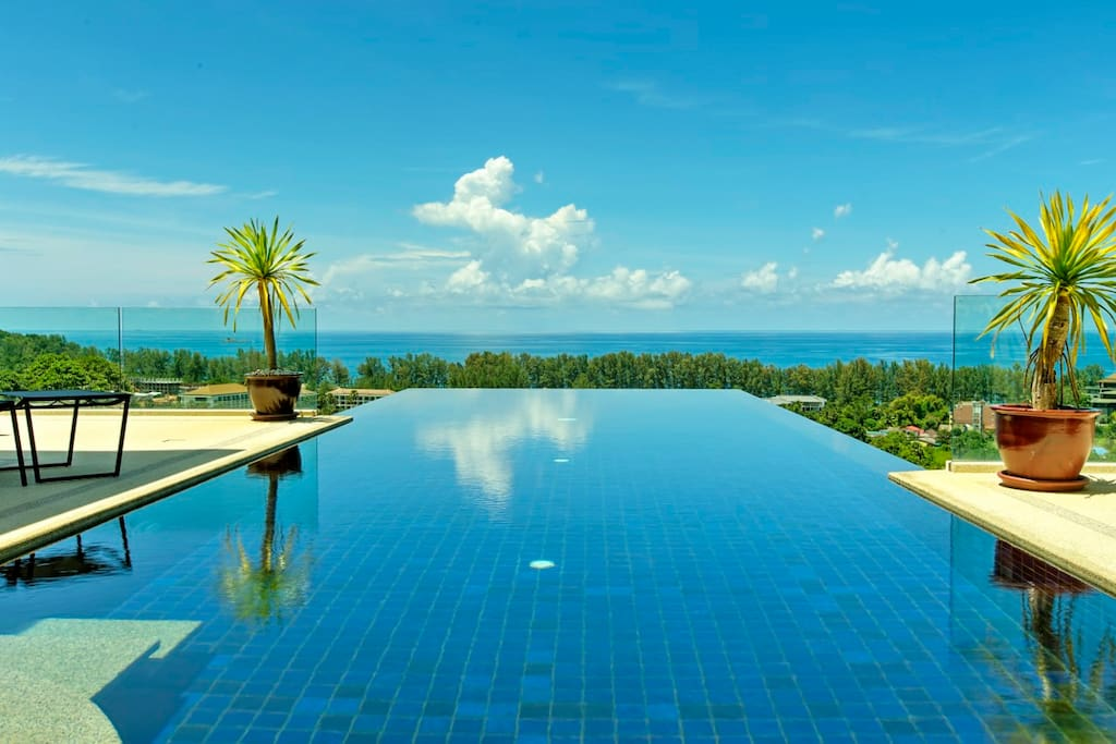 Villa Grande, Infinity Swimming Pool with breathtaking seaview