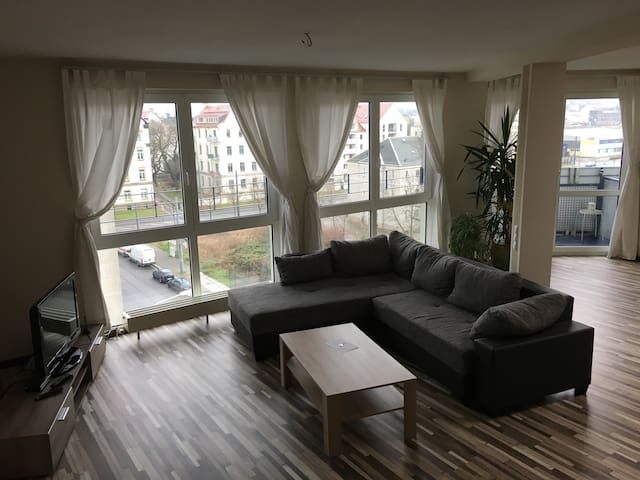 Fully equipped 57sqm micro loft in center of town