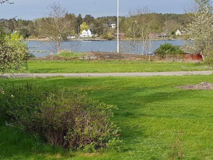 House with sea view on Värmdö