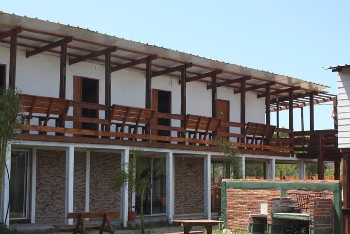 Habitación para 6, Punta Rubia, La Pedrera