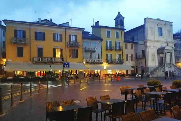 ARONA-LAGO MAGGIORE-Central three-room apartment