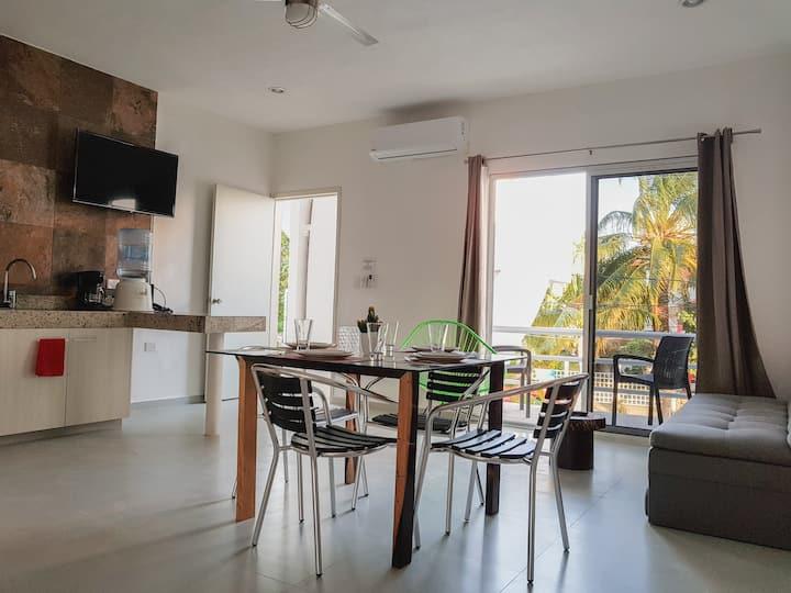 Beautiful apartment near by the beach