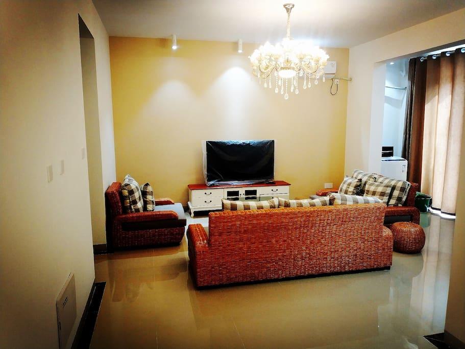 别墅-客厅-二楼