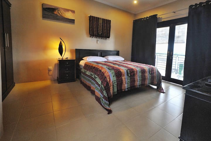 Wave House Gerupuk Lombok Room 4 QS Bed w/Balcony