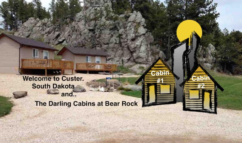 Historic Bear Rock - Darling Cabin #2