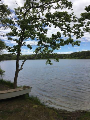Serenity- quiet retreat walking distance to lake