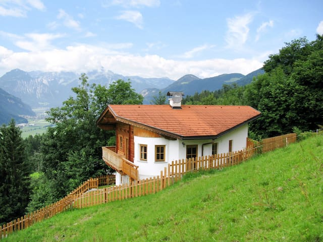 Holiday cottage with terrace in a beautiful hillside location, relaxing views