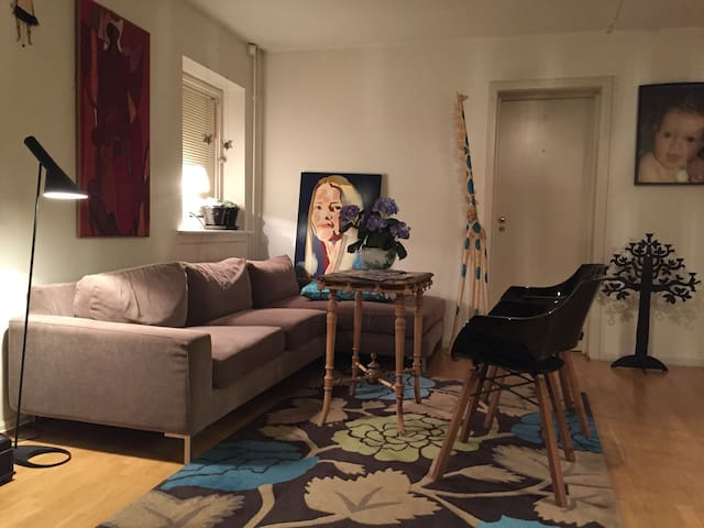Nice apartment close to forest and city centre. - Oslo - Appartement