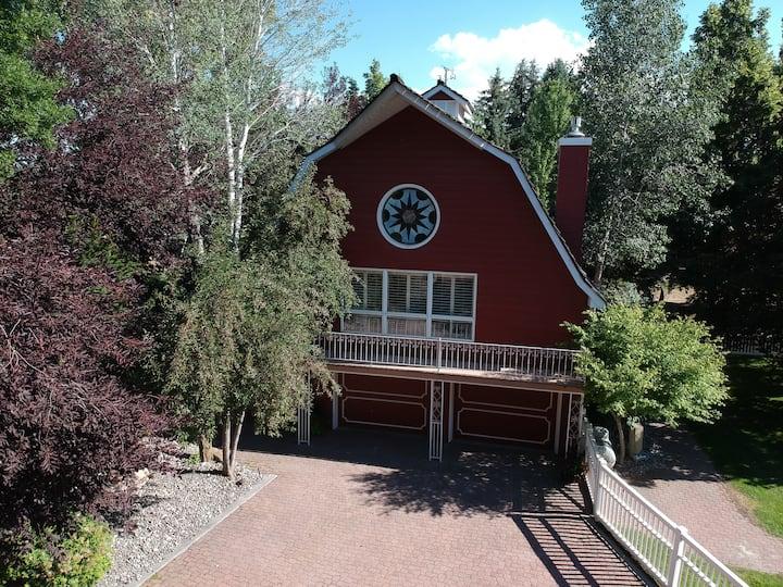 Red Barn Farm House