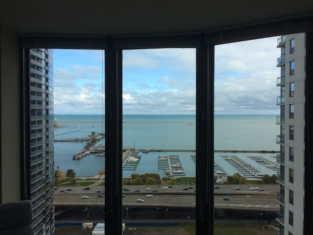 Great view 1 BDR apartment in downtown Chicago - Chicago - Appartamento
