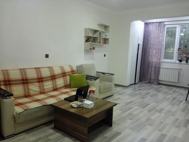 Cozy flat near metro (3 minutes by walking )