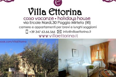 Villa Ettorina relax charm&nature - Poggio Mirteto - Huoneisto