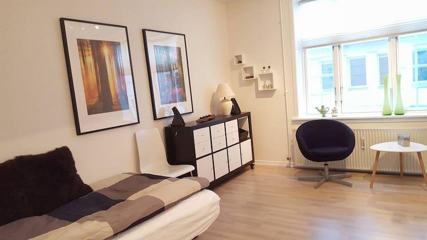 Værelse 2 til 450 kr. - hele lejligheden 875 kr. - Herning - Appartement