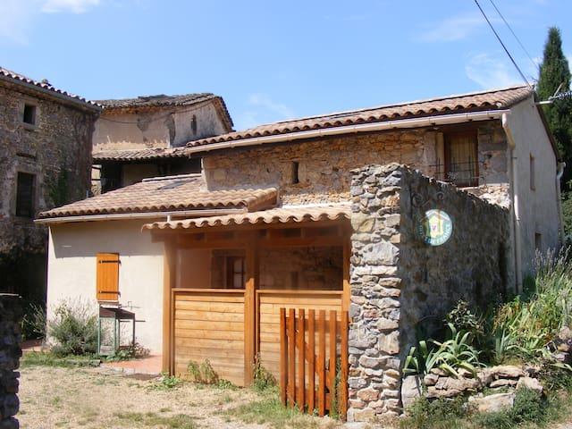 Petit gîte très sympa, accueillant - Thoiras - Casa