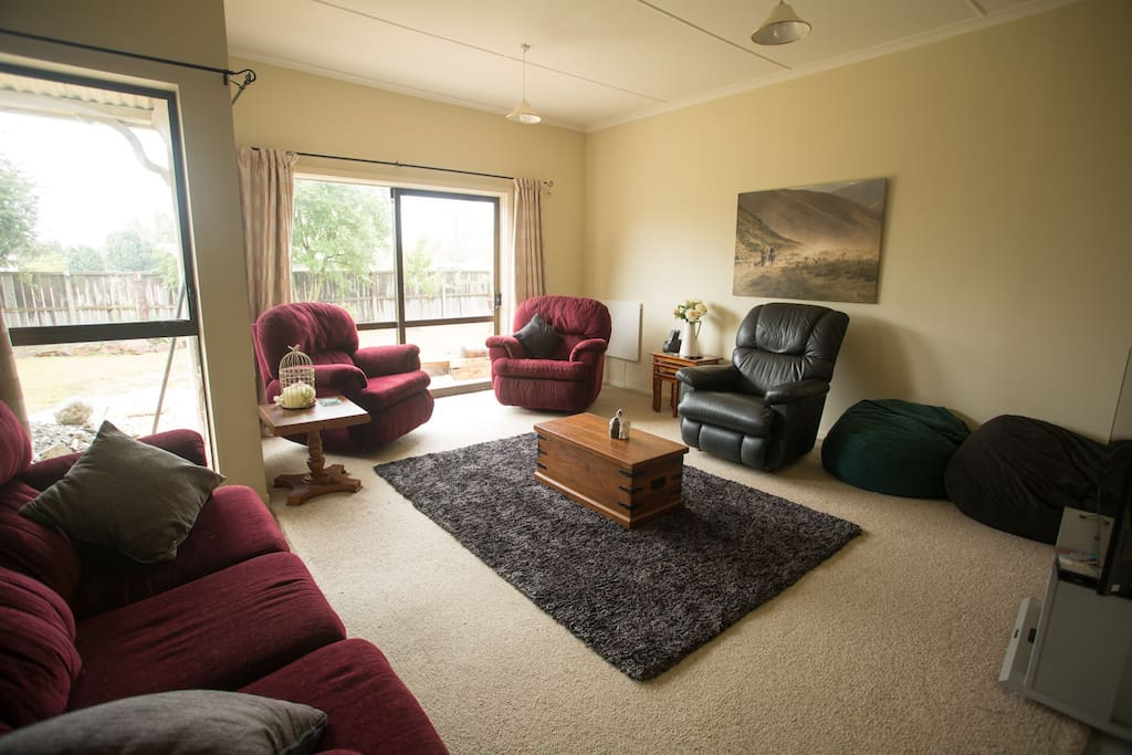 Lounge just off the bedroom
