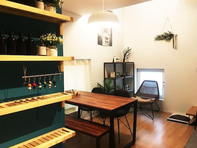 [NEW] Clean&Cozy Mu Aromatico House. Hongdae 5mins