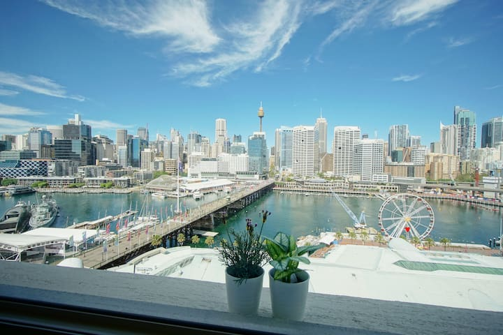 Jary' Sydney Darling harbour Waterfront Apartment