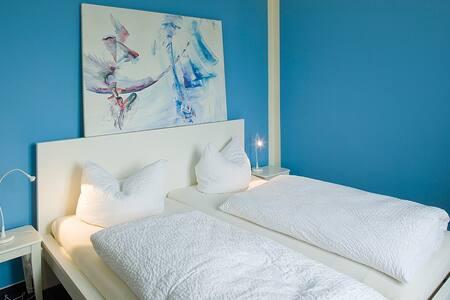 Blaue Wohnung 111 - Fürstenberg/Havel - 公寓