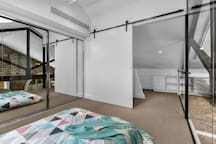 3rd bedroom mezzanine with skylight