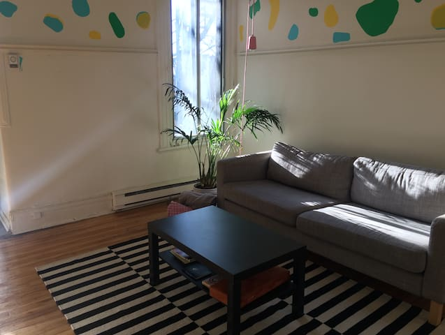 Large Apartment, Beautiful Mile End - Montréal - Lakás