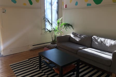 Large Apartment, Beautiful Mile End - Montreal - Pis