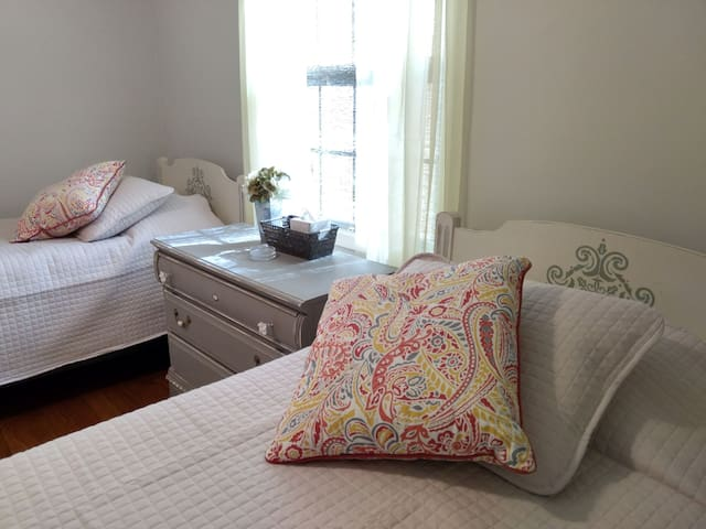 Spacious Double Twin Guest Room