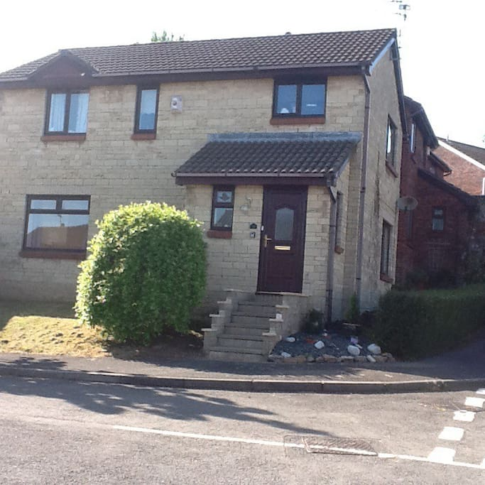 Set in a quiet residential area, house is 10 minute train ride from City Centre