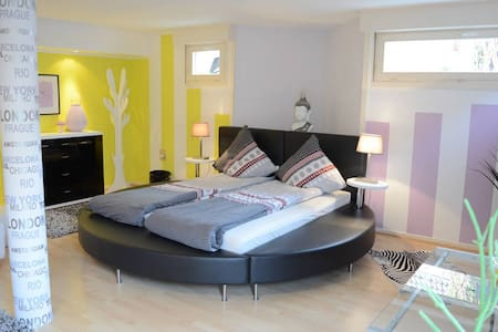 Double bedrooms - Basel - Bed & Breakfast